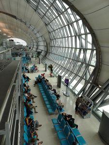 Bangkok Airport Foto by Fabio Achilli
